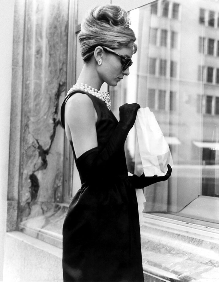 Audrey-Hepburn-Black-Givenchy-Dress-Breakfast-Tiffanys