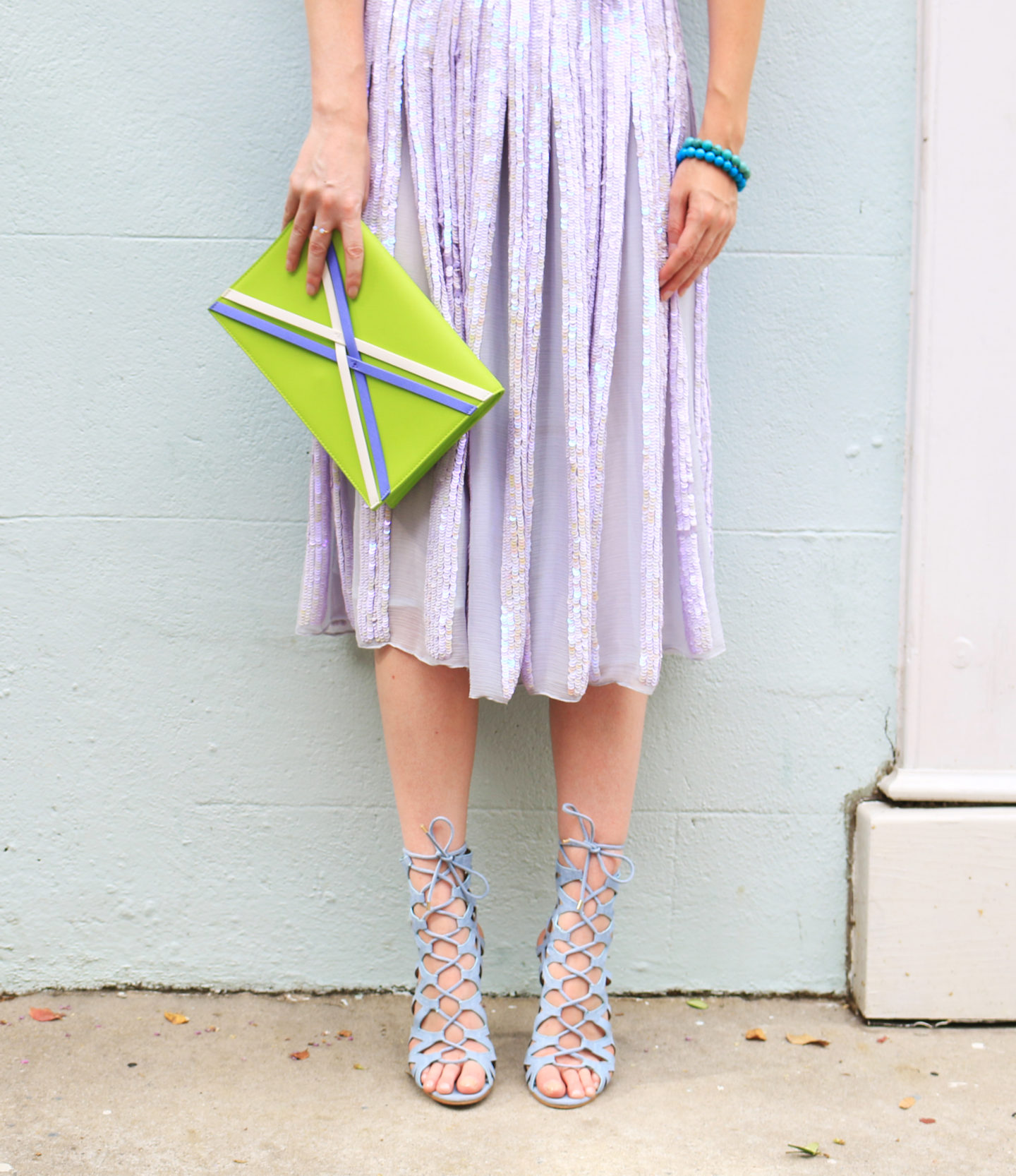 How To Style A Sequin Skirt: Charleston Edition