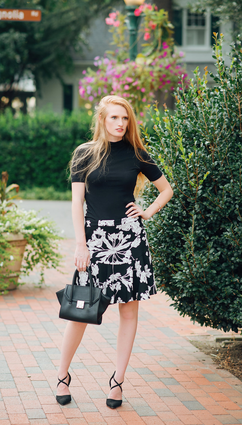 banana republic flounce skirt