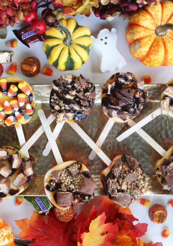 Halloween DIY: Candy Apple Pops