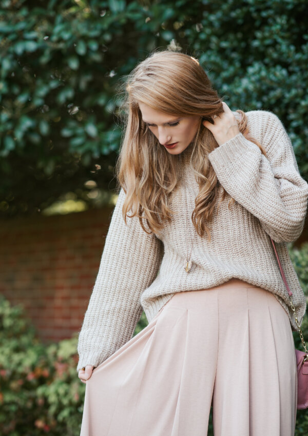 How to Style Neutral Colors: Blush and Beige