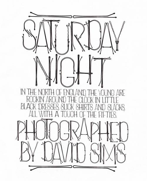 typography fashion magazines