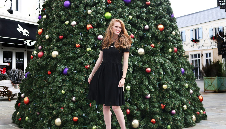 Holiday Style Little Black Dress