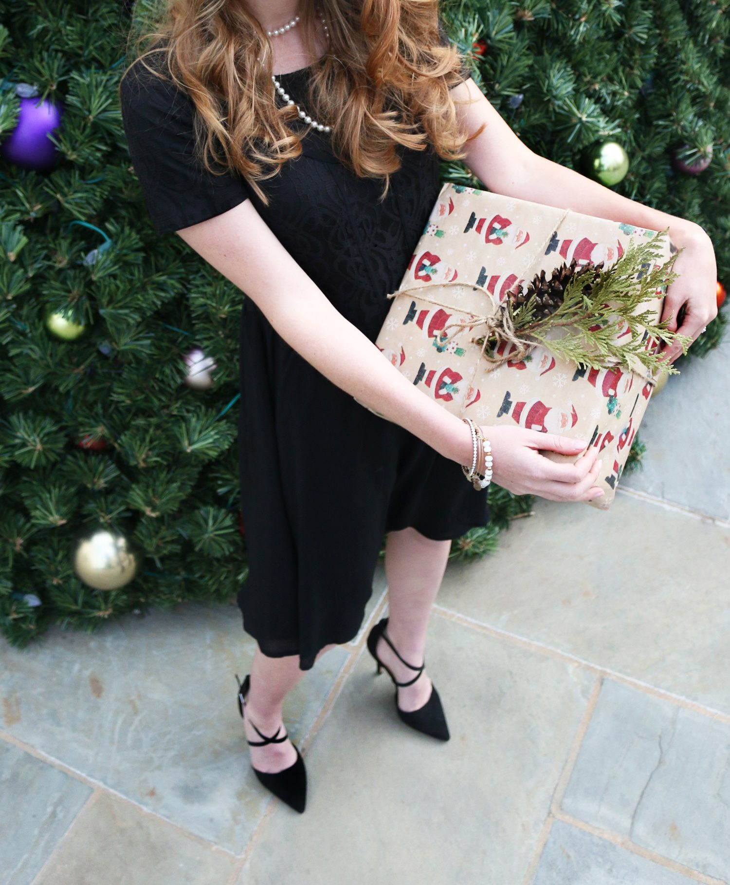 Holiday Style Little Black Dress