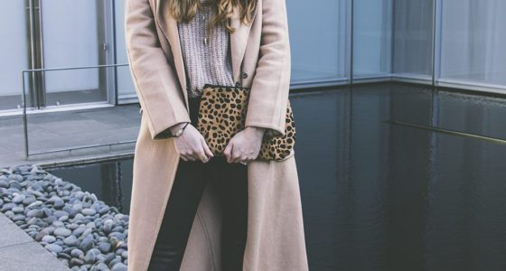 How to Style a Black and Camel Outfit