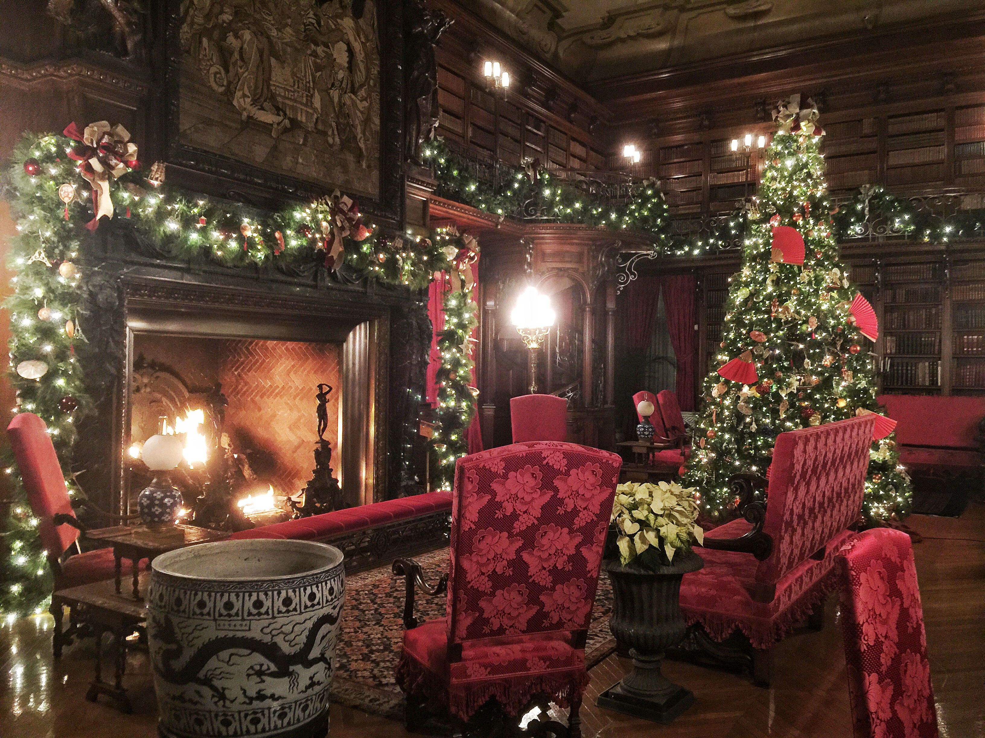 Christmas at the Biltmore Estate