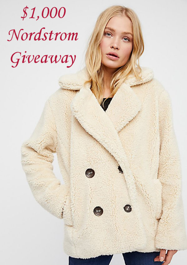 9 Teddy Bear Coats To Keep You Warm All Winter + $1,000 Nordstrom Giveaway