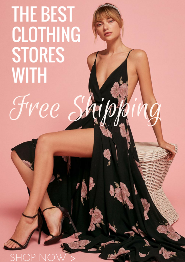 The Best Clothing Stores with Free Shipping