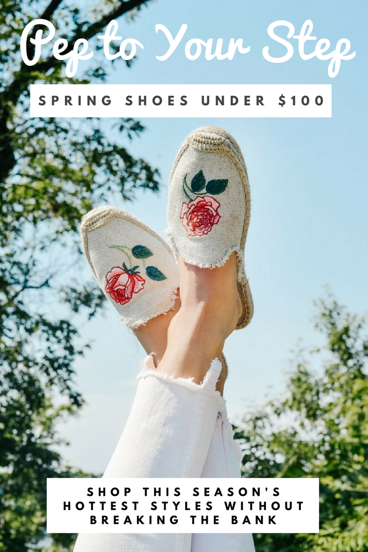 spring shoes under 100