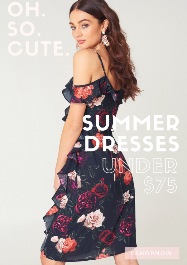 Pretty Summer Dresses Under $75