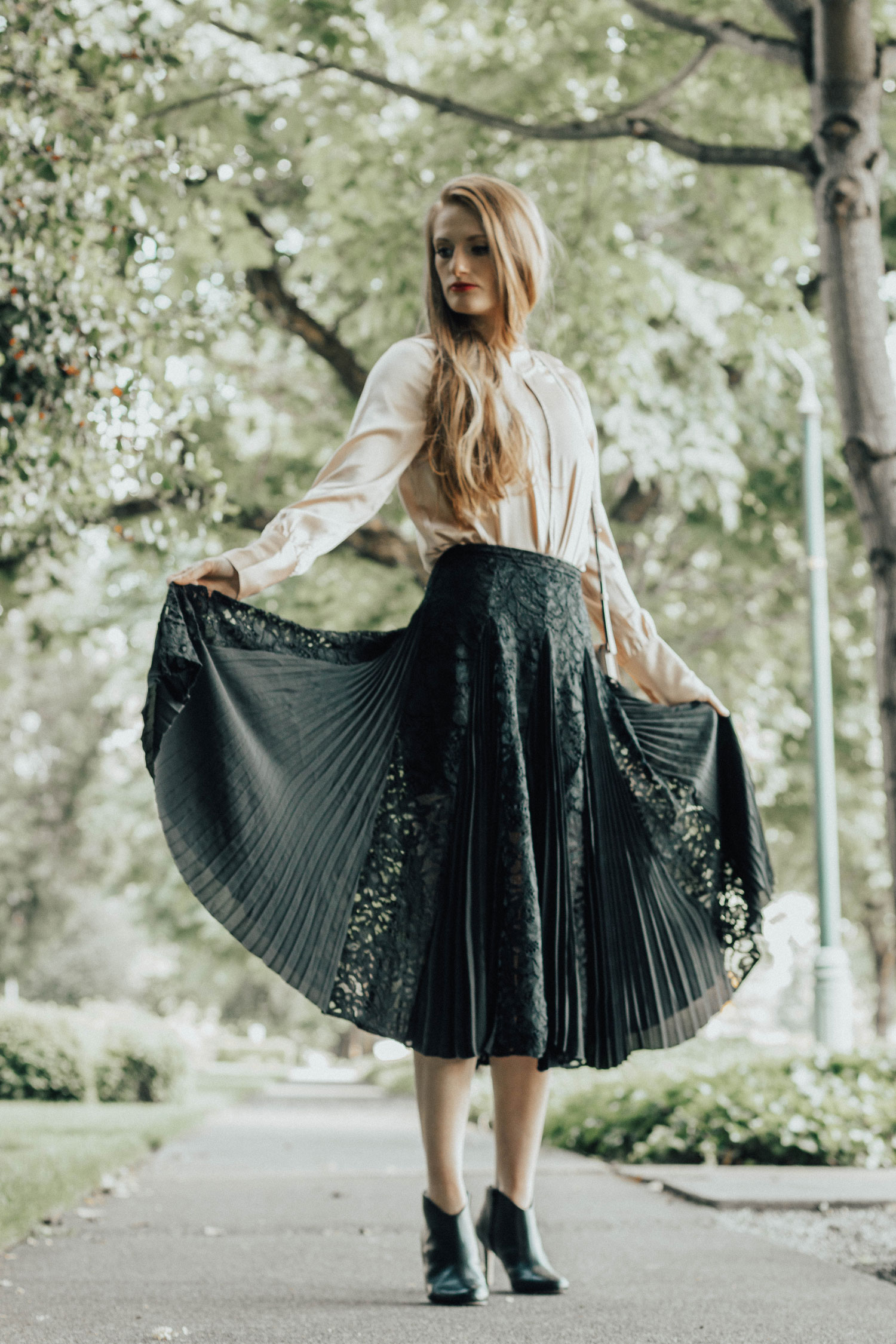 NA-KD Fashion Outfit Discount Code Blouse Skirt Style Outfit