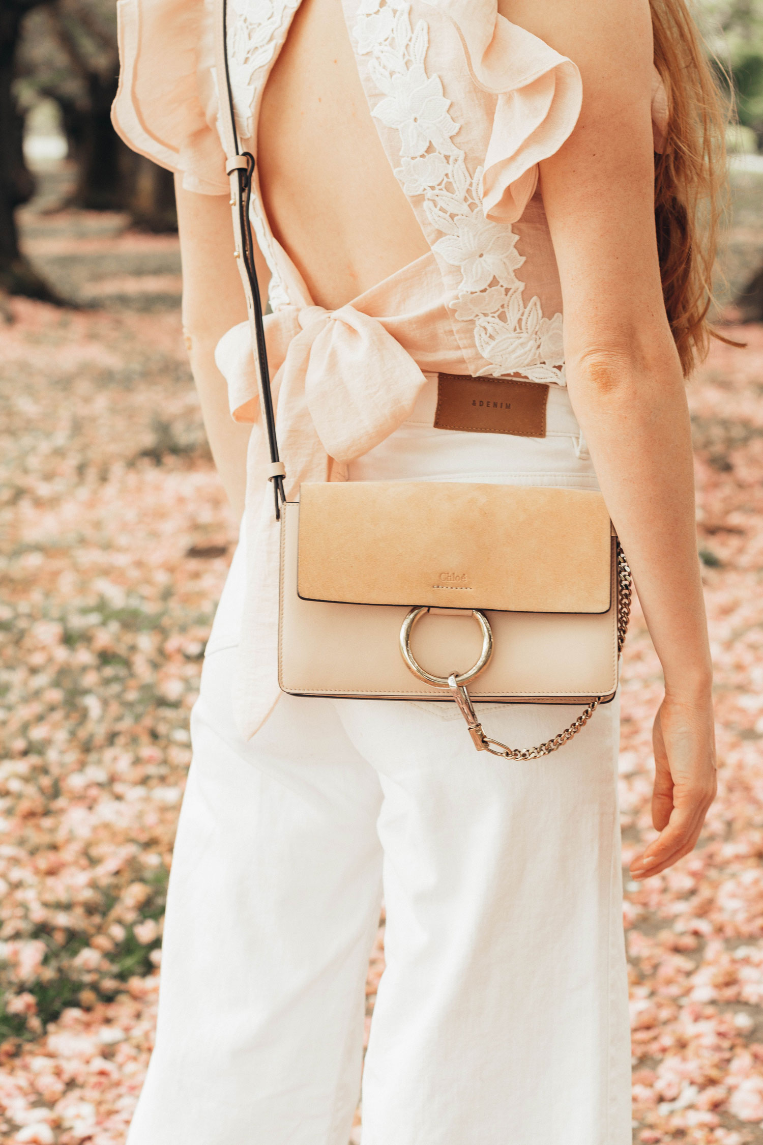 The Perfect Pair of White Culottes