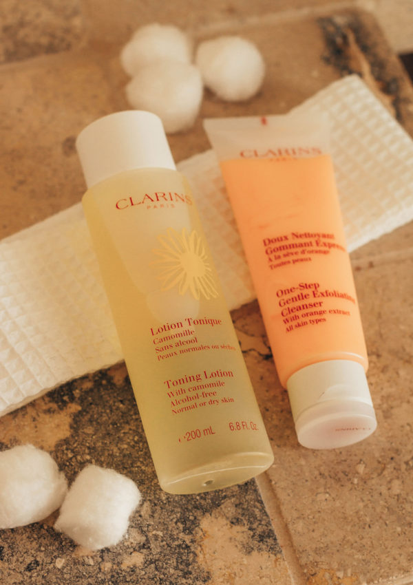 Summer Skincare Routine With Clarins