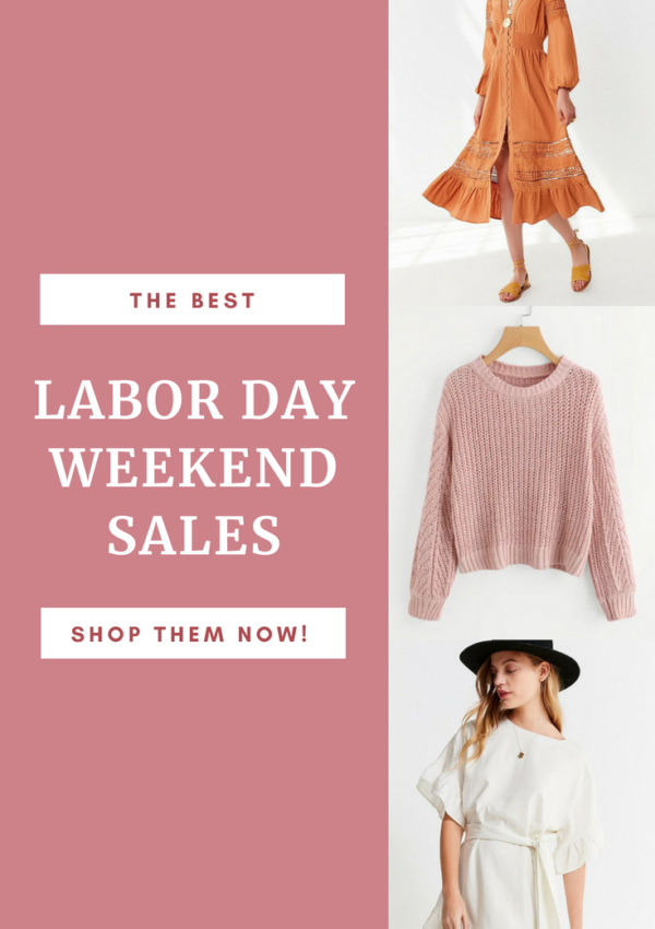 The Best Labor Day Weekend Sales 2018