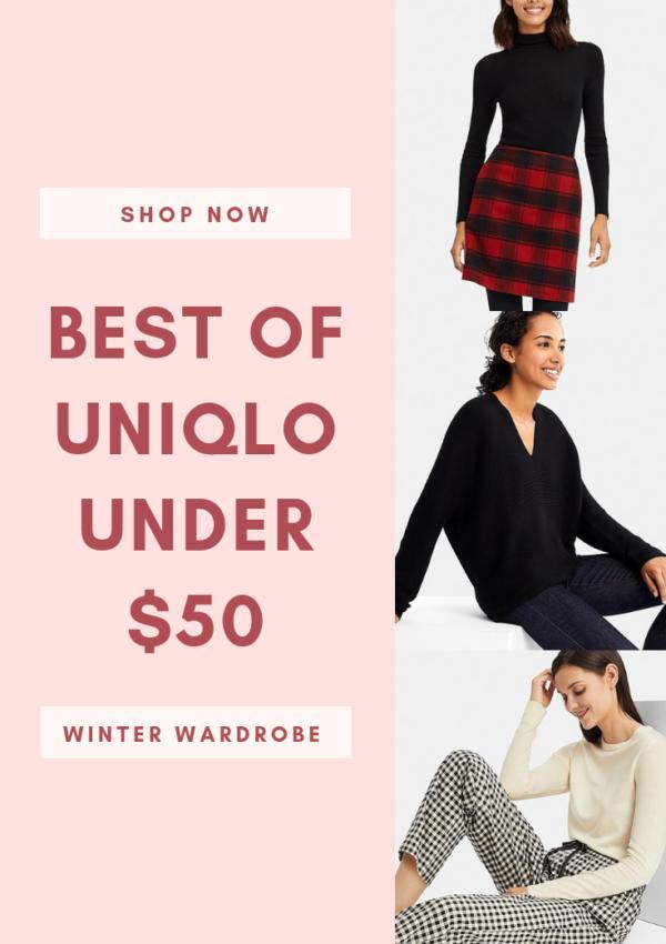Best of Uniqlo Under $50