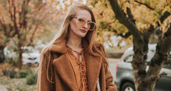 The Coziest Brown Teddy Coat