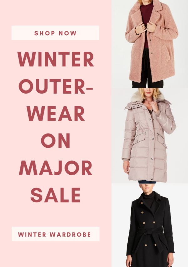 Shop Winter Outerwear on Major Sale