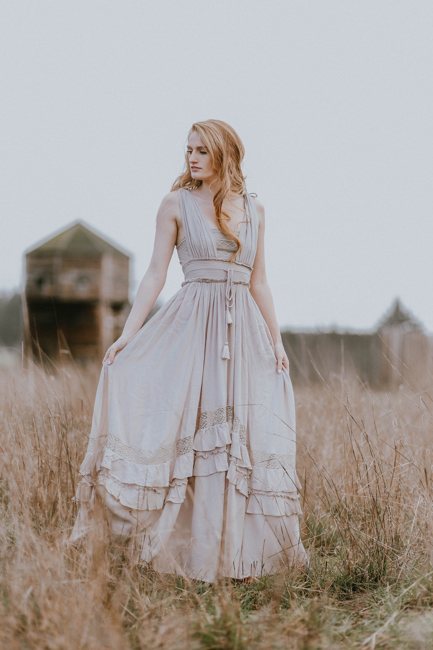 Boho Maxi Dress For Spring Free People Fort Vancouver National Historic Site Washington