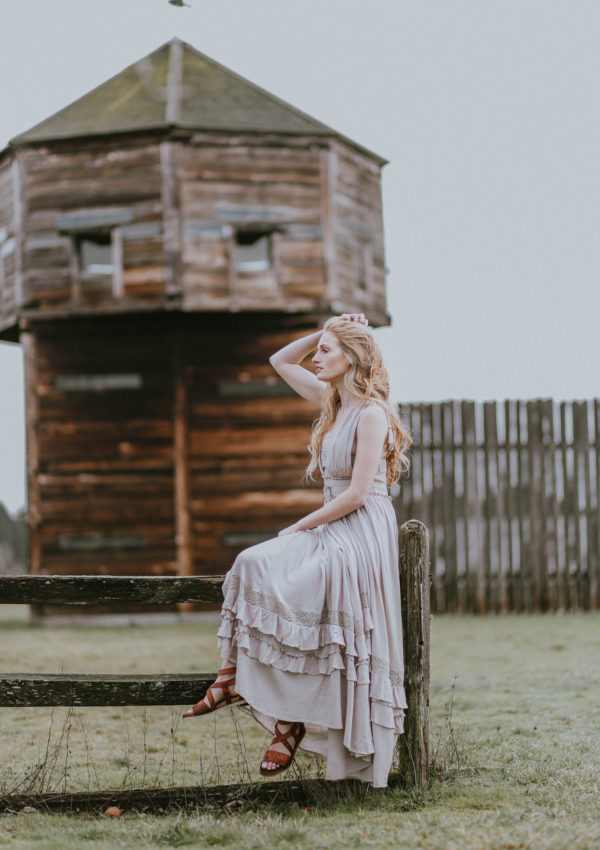 The Perfect Boho Maxi Dress For Spring
