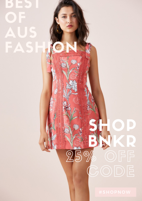 The Best of Australian Fashion + 25% Off Code
