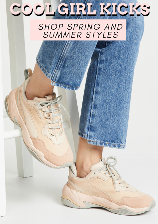 Cool Girl Sneakers You Need for Spring and Summer