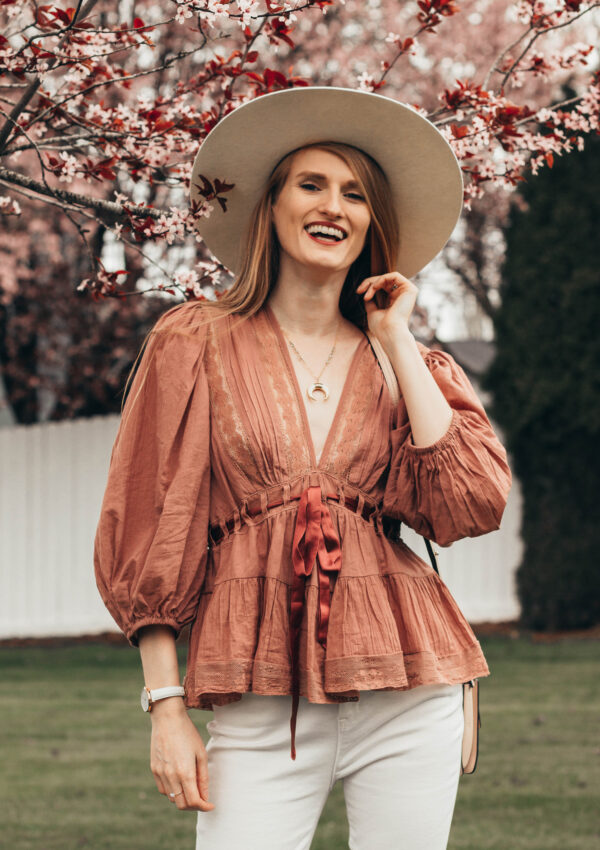 The Cutest Free People Tunic Blouse