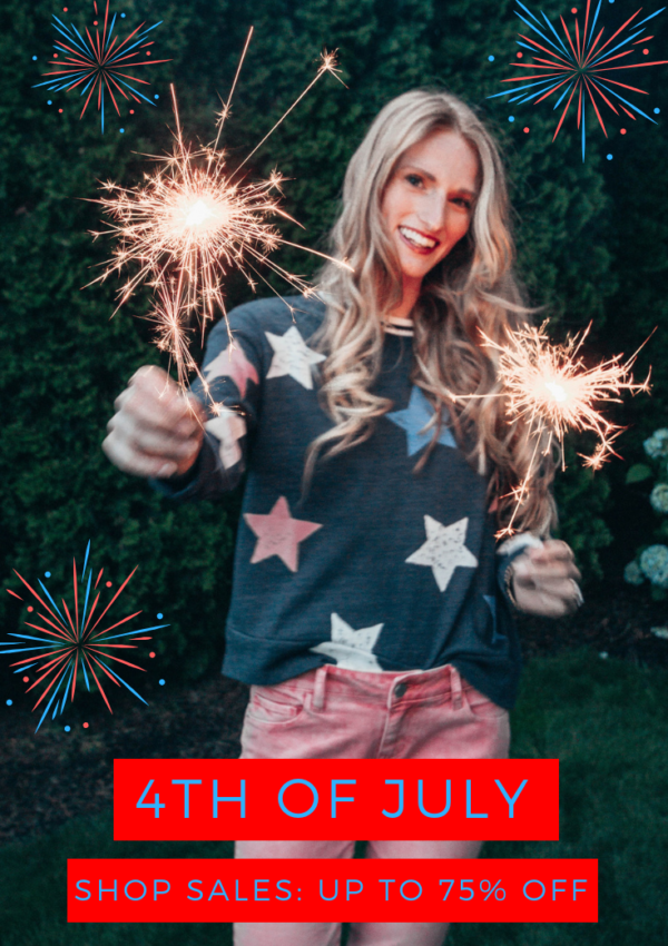 The Best 4th of July Sales: Up To 75% Off!