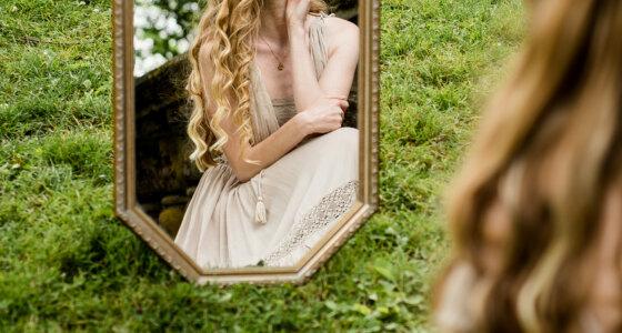 Aphrodite in the Peninsula Park Rose Garden