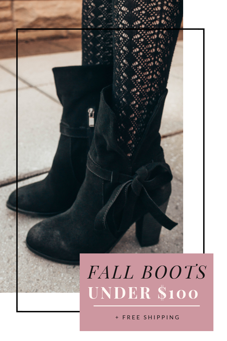 Fabulous Fall Booties Under $100