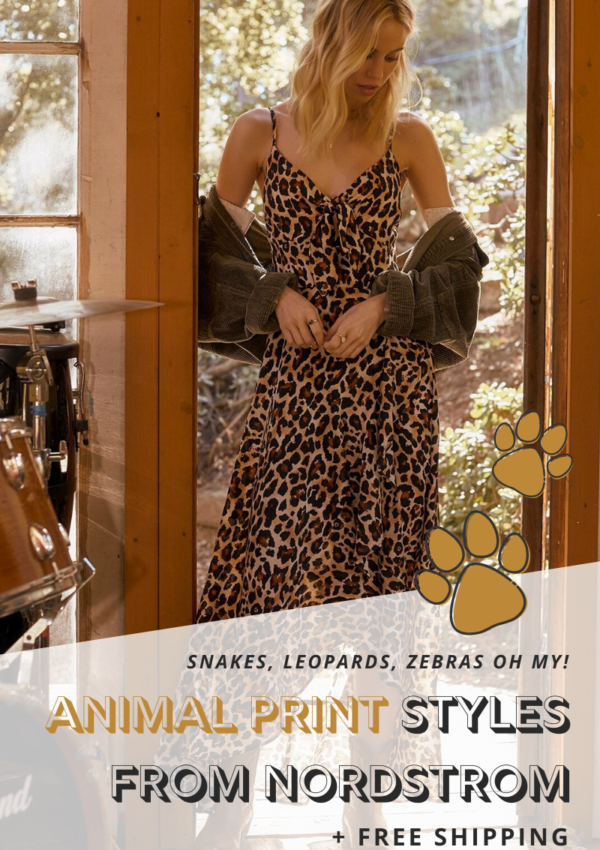 The Best Animal Print Styles From Nordstrom (+ Free Shipping)