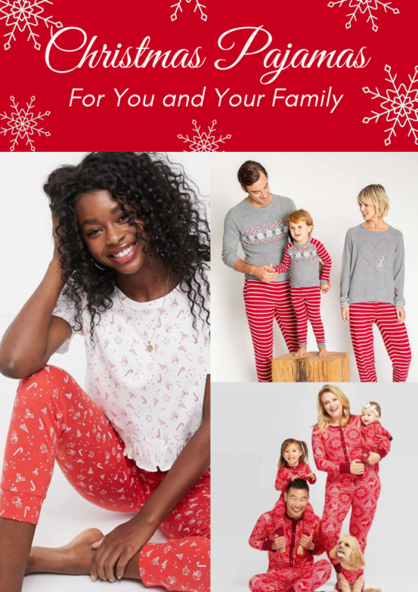The Cutest Christmas Pajamas for You and Your Family